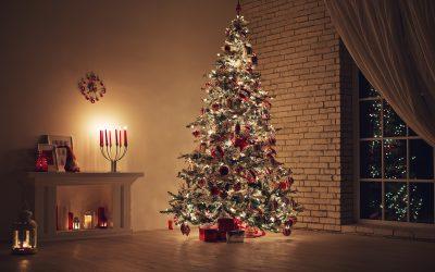 A história das luzes de natal