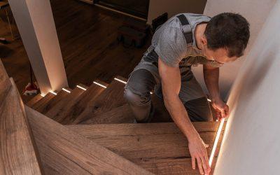 Iluminação com fitas de Led: como instalar e inspirações