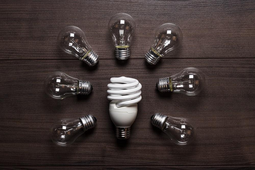 Tipos de lâmpadas: comparação fluorescente e incandescentes