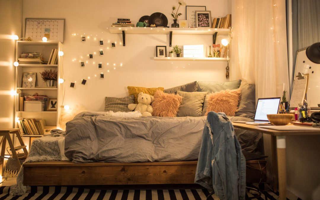 Como deixar seu quarto aconchegante através da iluminação